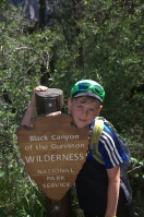 Auf dem Oak Flats Trail