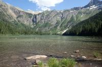 Avalanche Lake - sogar ohne Menschen