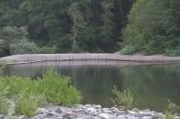 Temporäre Sommerbrücke