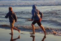 Flucht vor dem Wasser